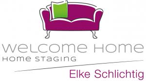 Logo_Welcome Home_Home Staging_ Innenraumgestaltung_Elke Schlichtig_München